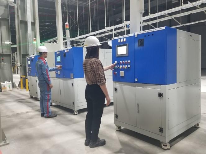 STU cung cấp một số thiết bị sản xuất, lắp ráp xe Buýt điện tại nhà máy Vinfast